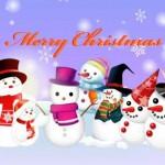 雪だるまでメリークリスマス