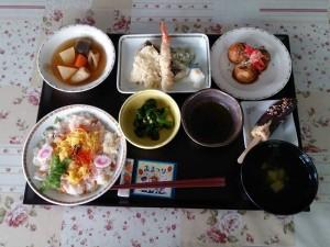 夏祭りの食事