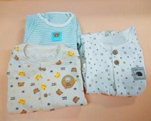 可愛いベビー服3種類